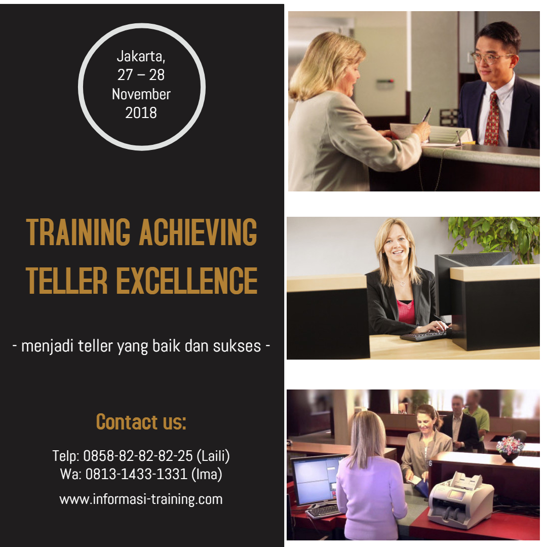 TELLER EXCELLENCE – Almost Running