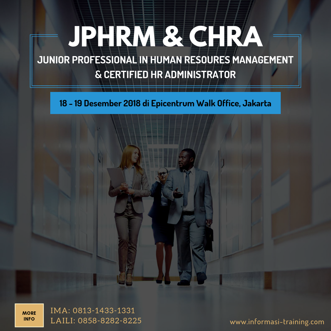 JUNIOR PROFESSIONAL IN HUMAN RESOURCES MANAGEMENT (JPHRM) & CERTIFIED HR ADMINISTRATOR (CHRA) – Almost Running