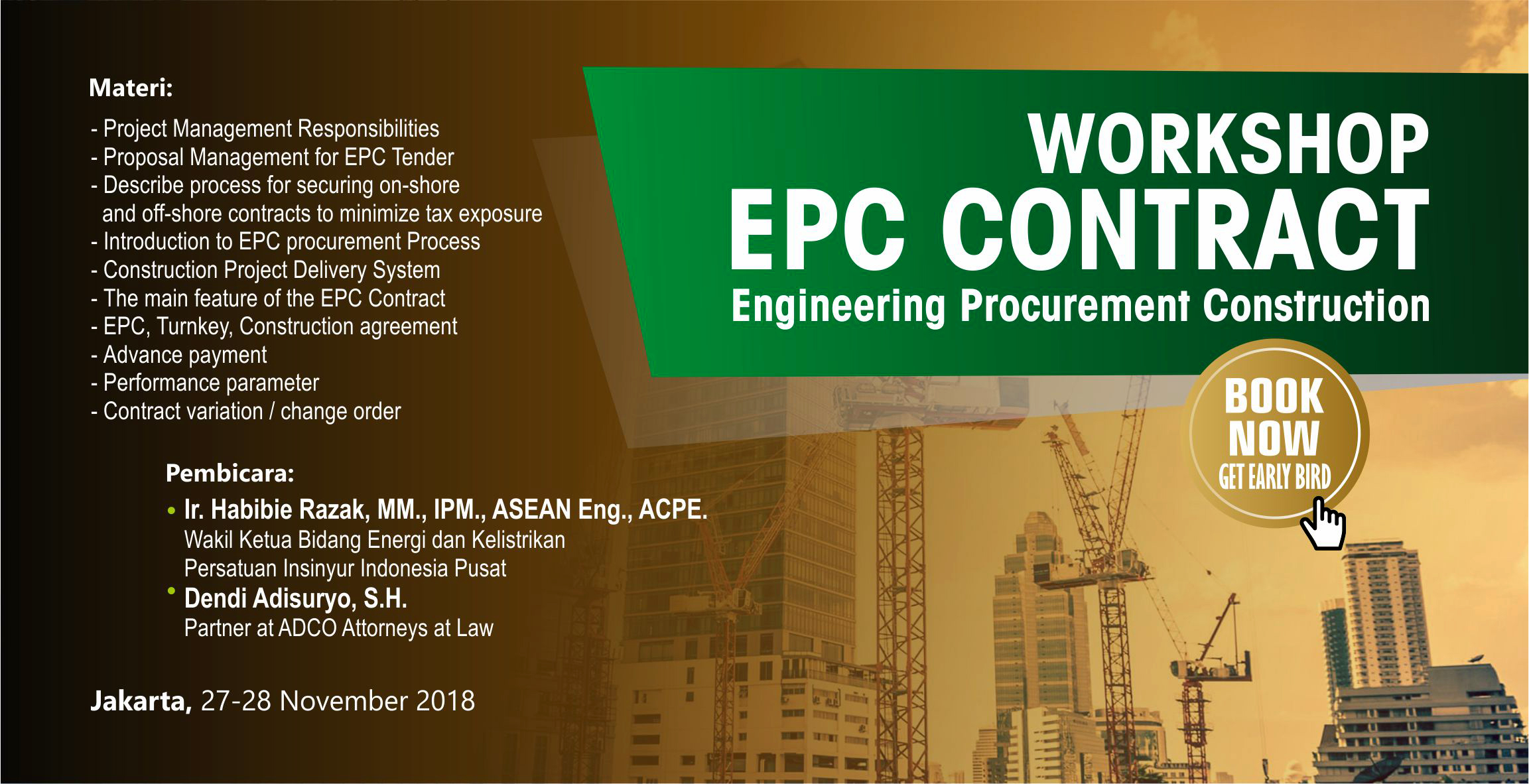 Engineering, Procurement and Construction (EPC) Contract Management