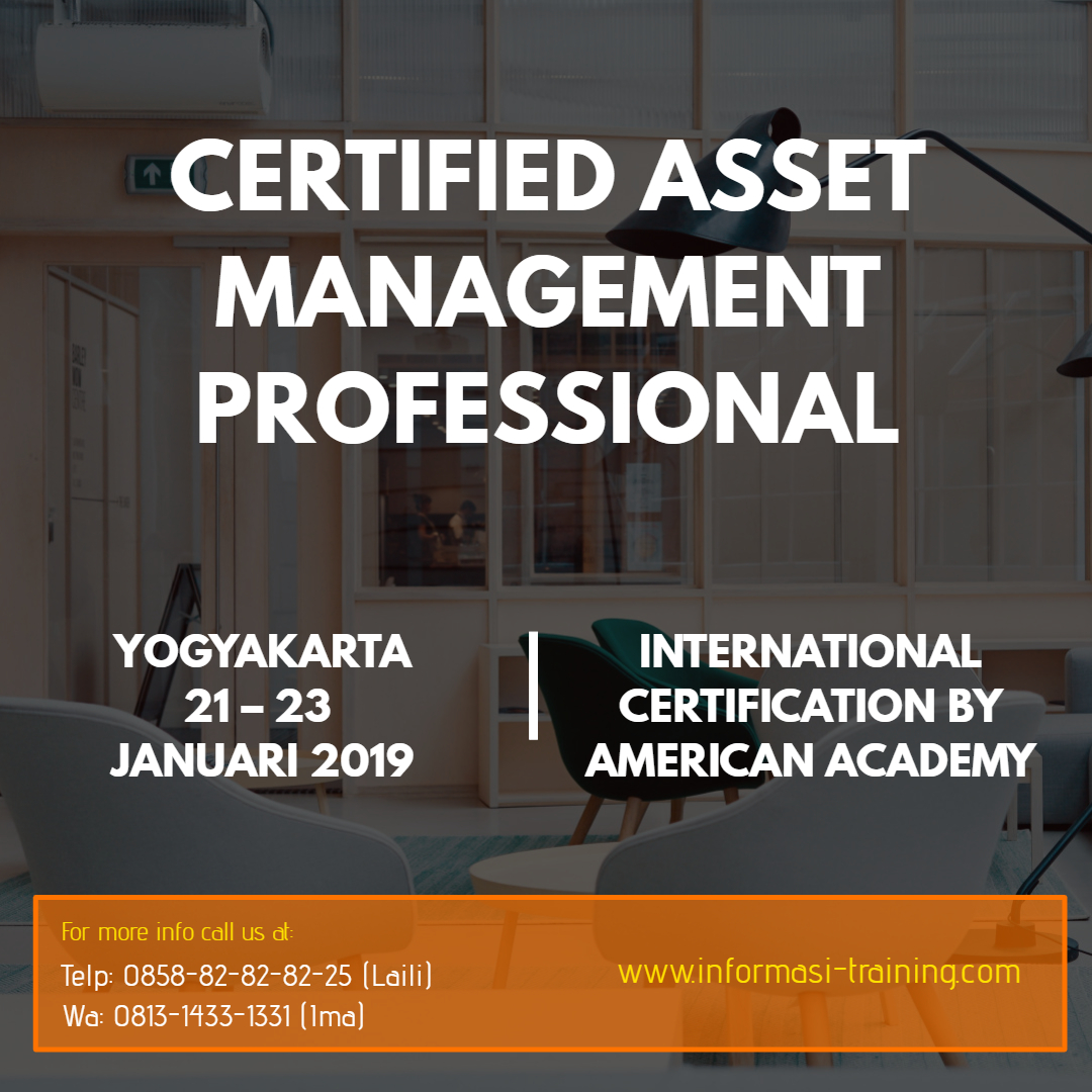 Certified Asset Management Professional