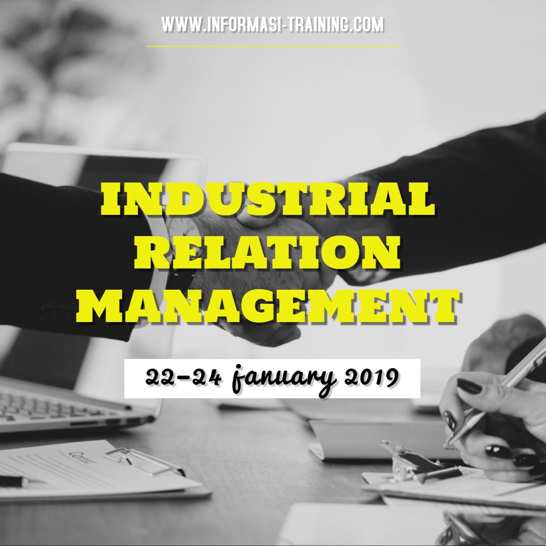Training Hubungan Industrial