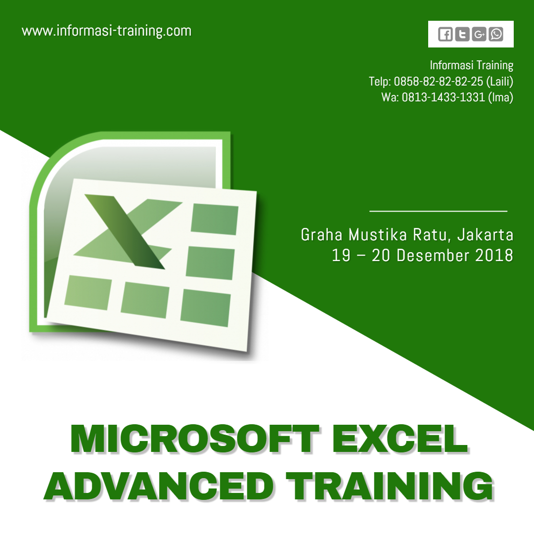 MICROSOFT EXCEL ADVANCED – Almost Running