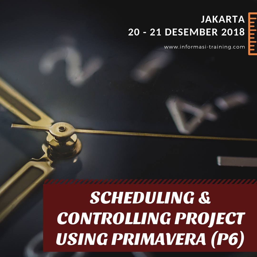 Project Scheduling & Controlling