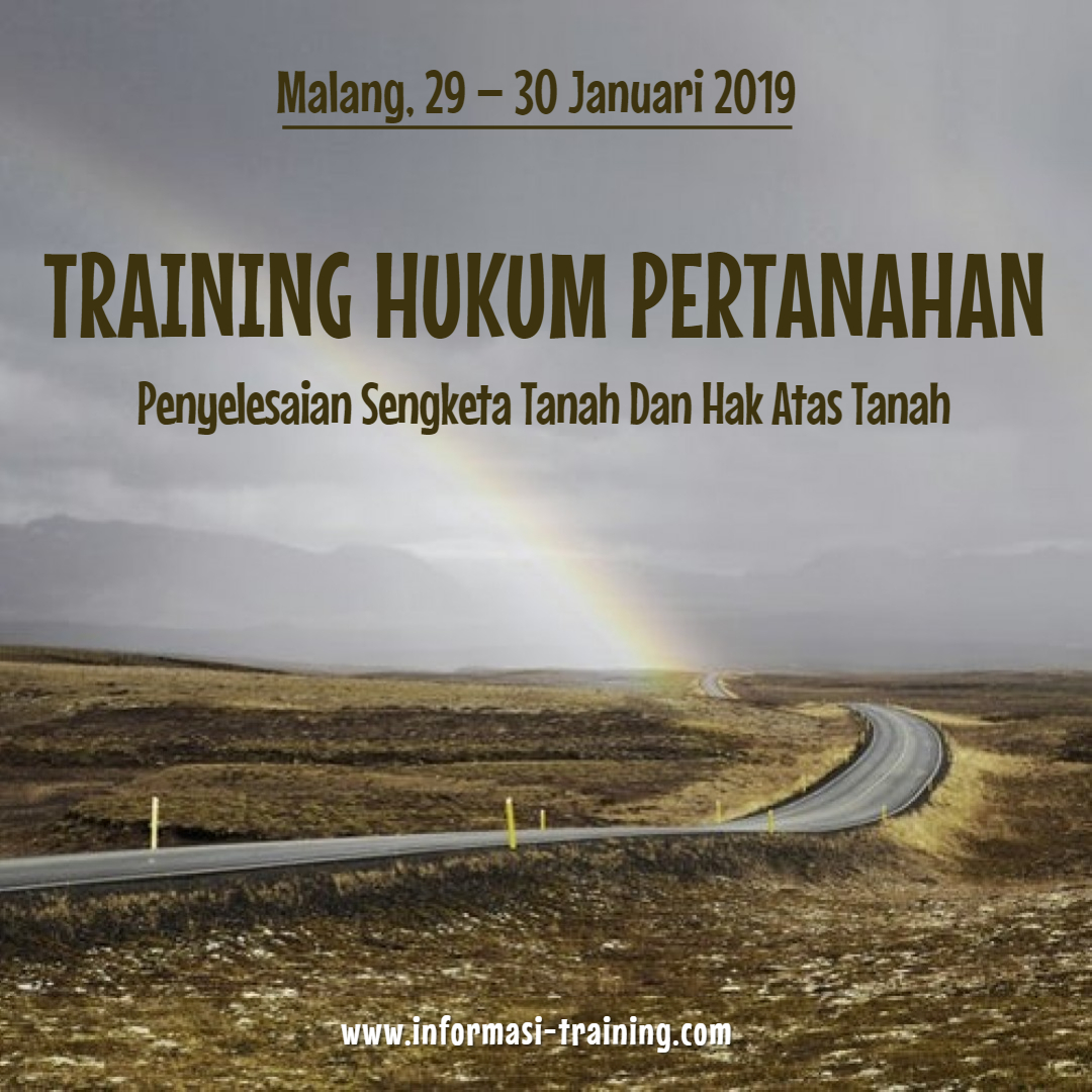 Training Hukum Pertanahan