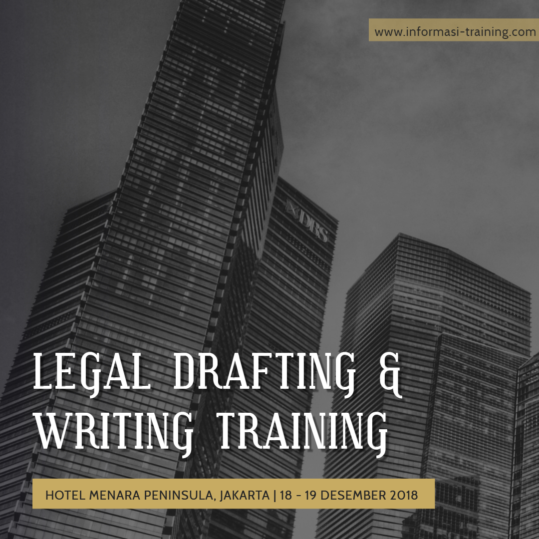 LEGAL DRAFTING & WRITING – Almost Running