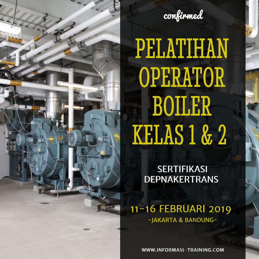 sertifikasi operator boiler