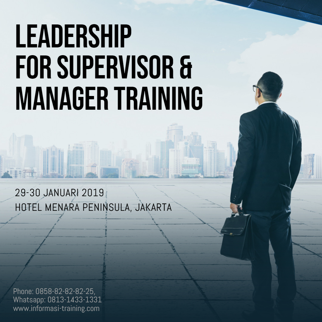 leadership for supervisor manager