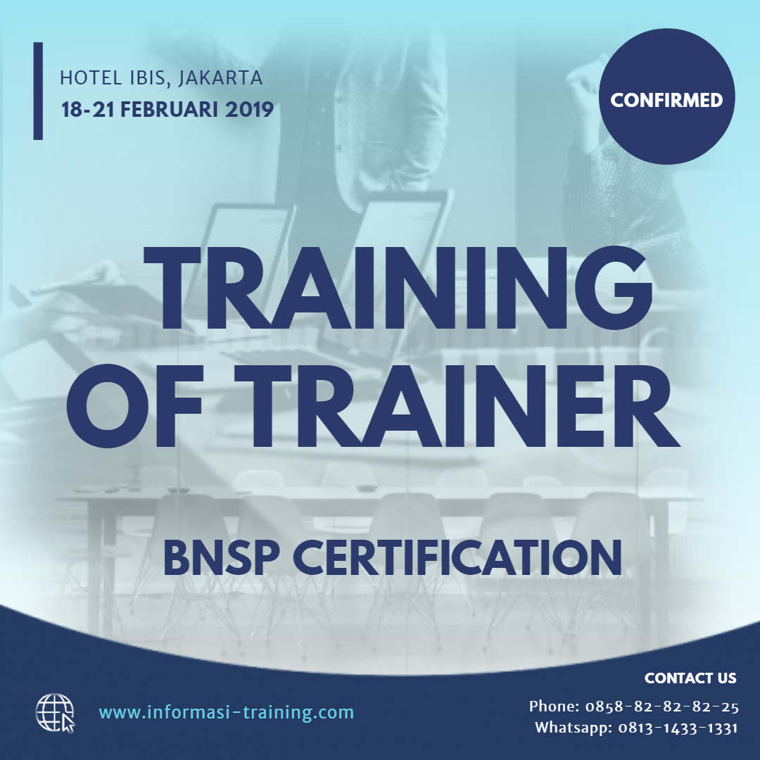 training of trainer certification