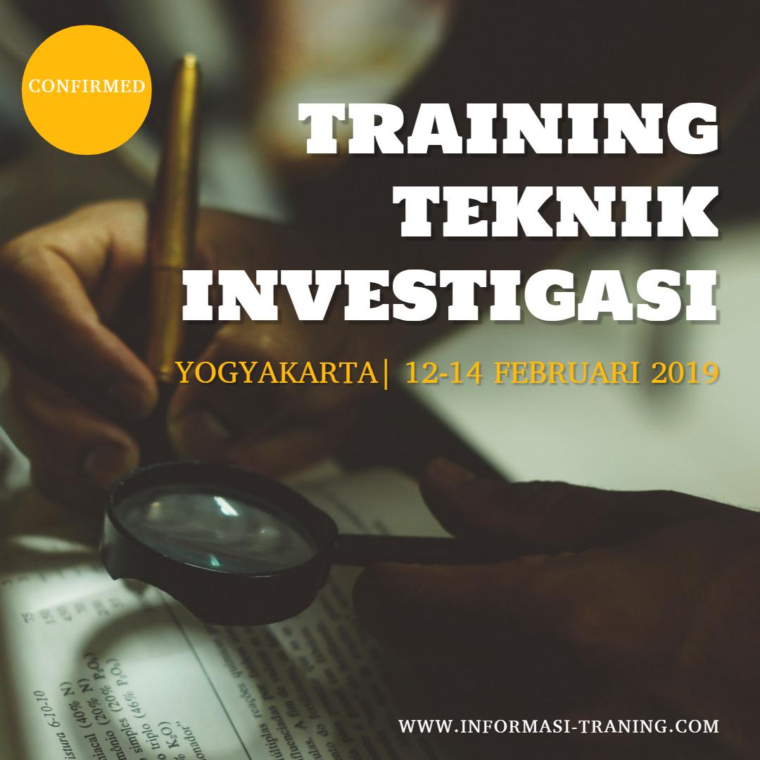 Training Investigasi