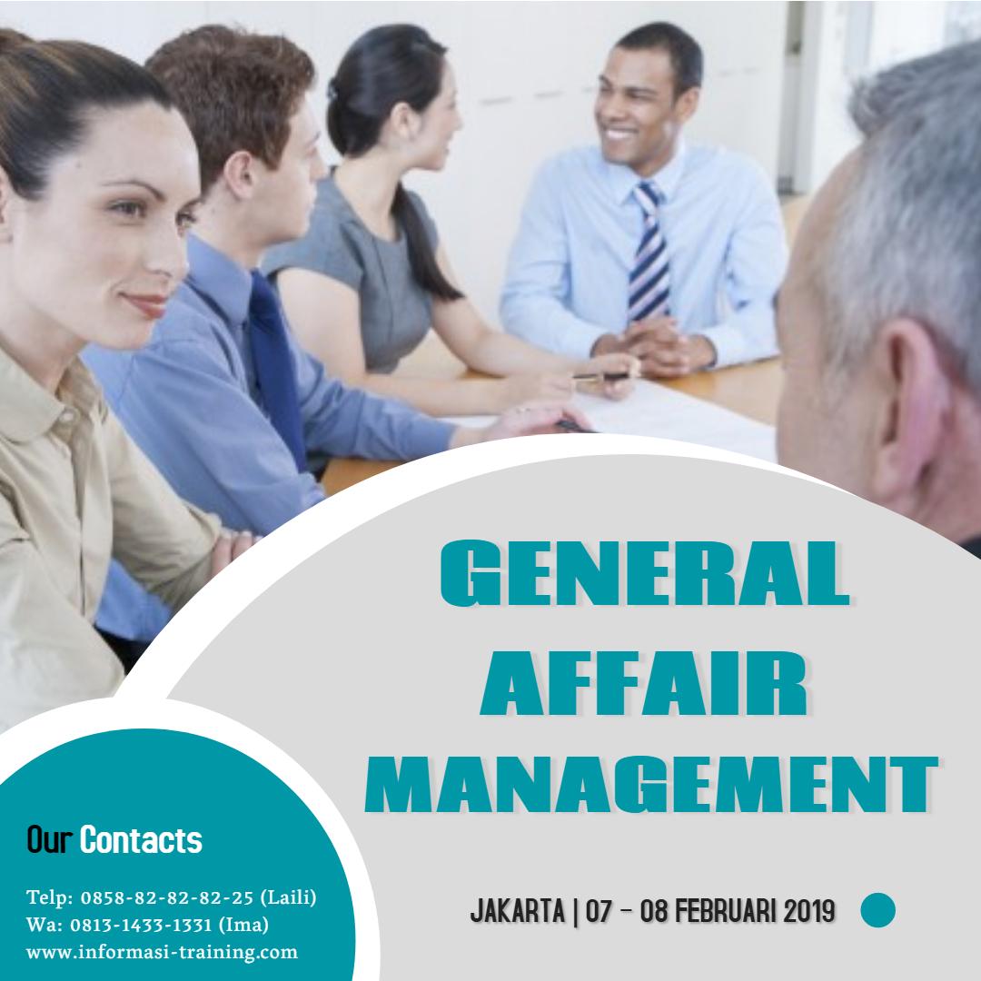 general affair management