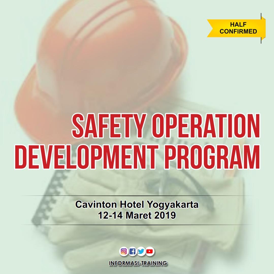 safety operation development