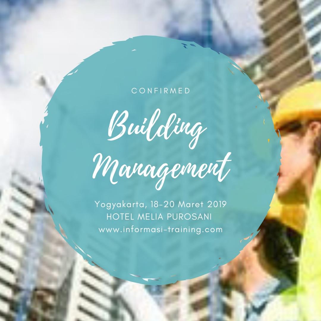 BUILDING MANAGEMENT – Pasti Jalan