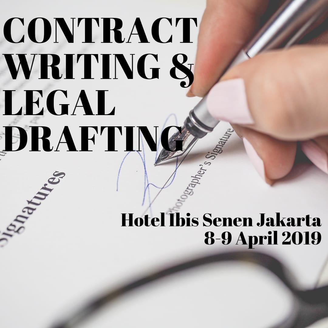 penyusunan hukum kontrak