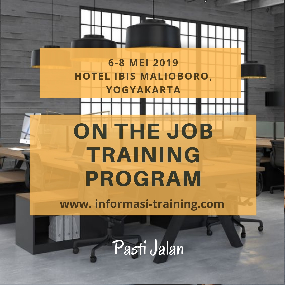 OJT (On the Job Training) – Available Online
