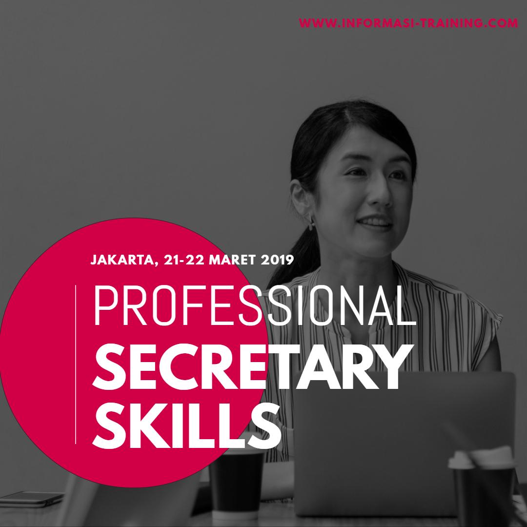 Training Professional Secretary