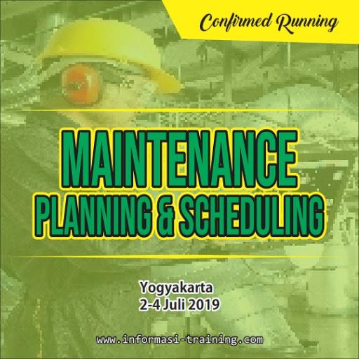 Training Maintenance planning&scheduling