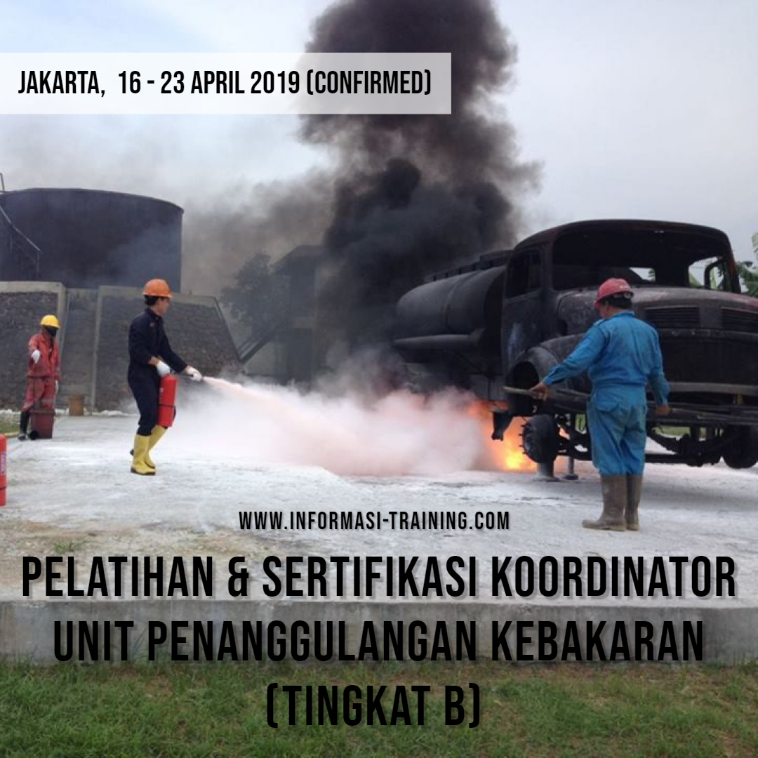 Koordinator Unit Penanggulangan Kebakaran Tingkat B