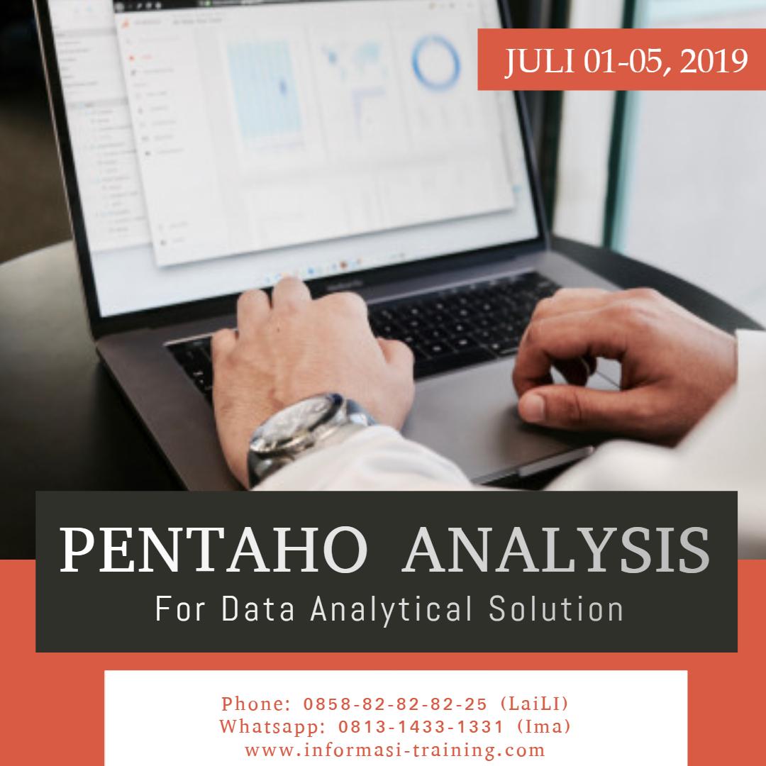 pentaho analysis