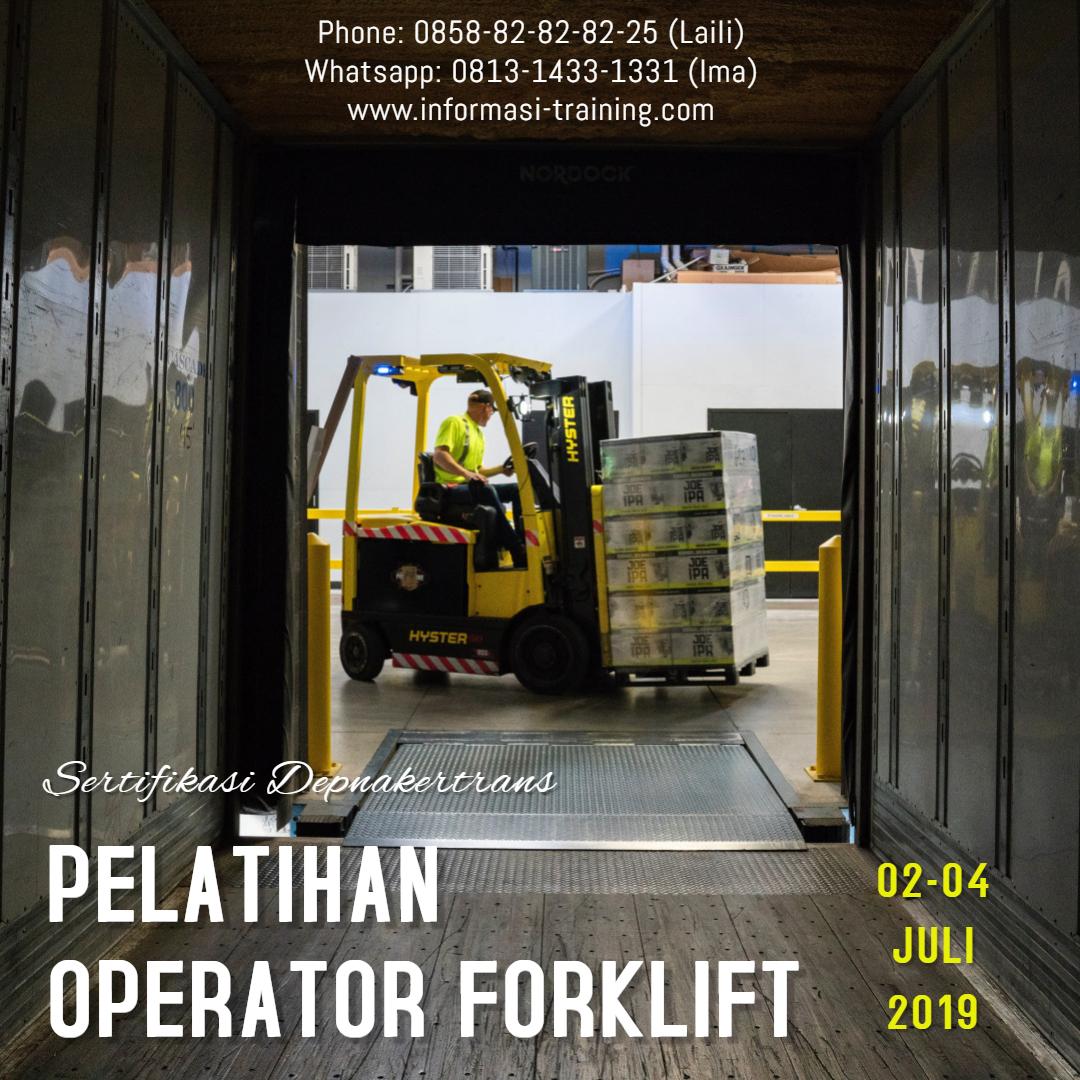 Training Forklift