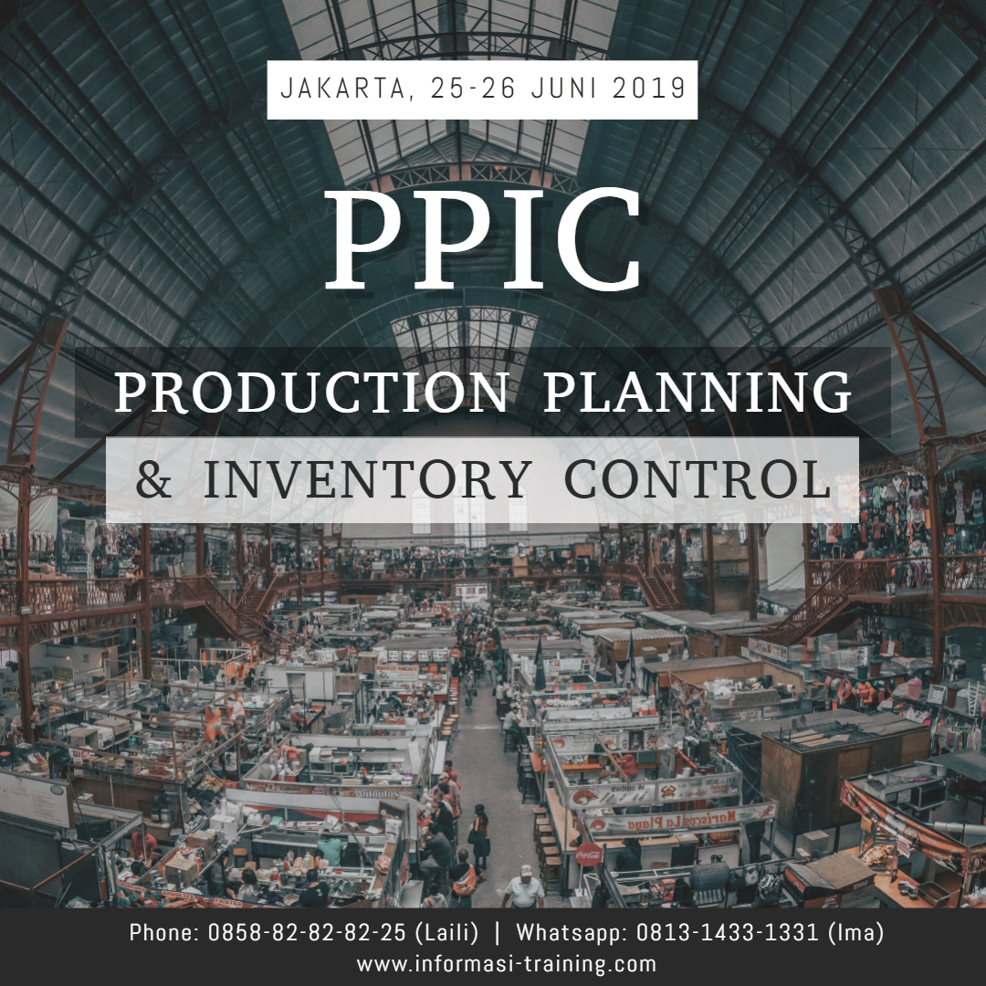 production planning & inventory control