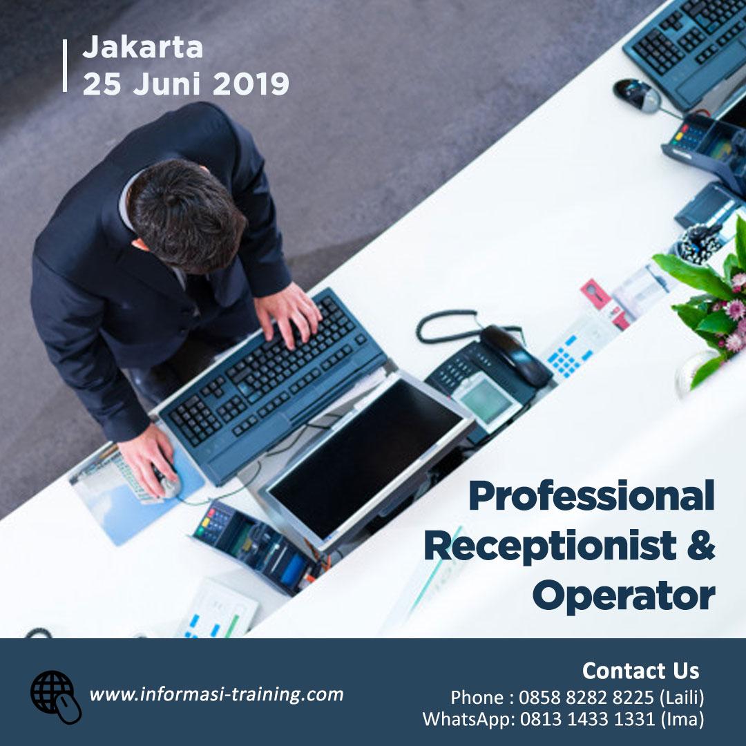 Training Receptionist & Operator