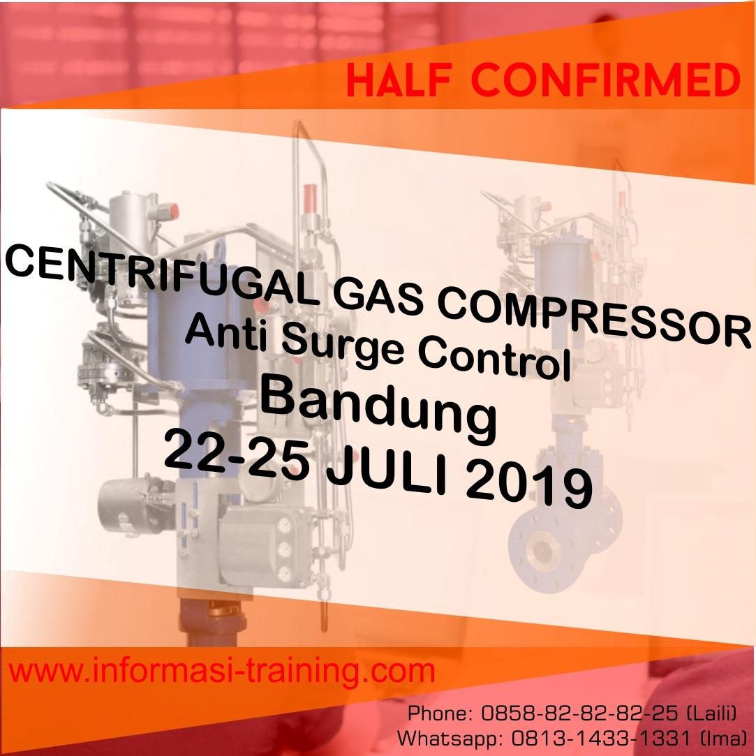 CENTRIFUGAL GAS COMPRESSOR: Anti Surge Control – ALMOST RUNNING