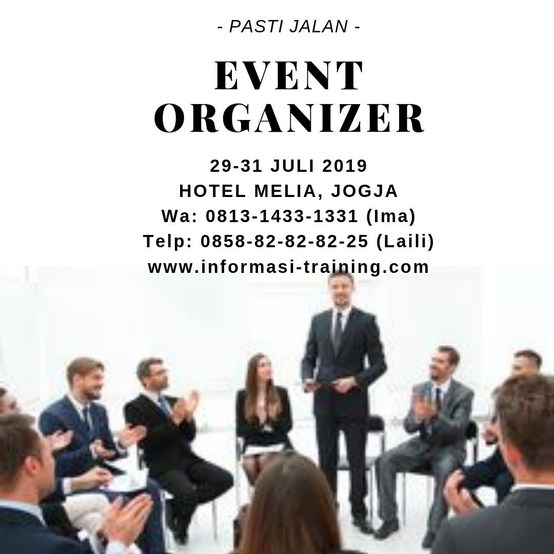 event organizer management