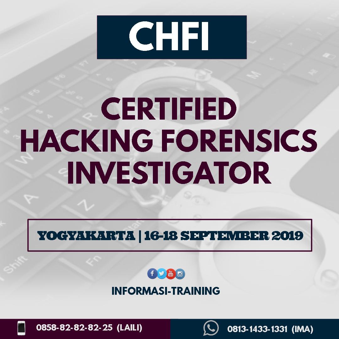 certififed Hacking Forensics Investigator
