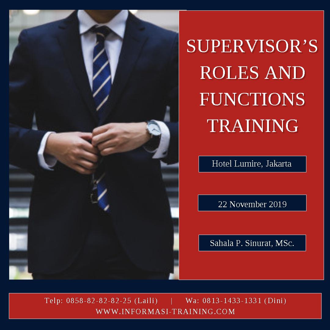supervisor function