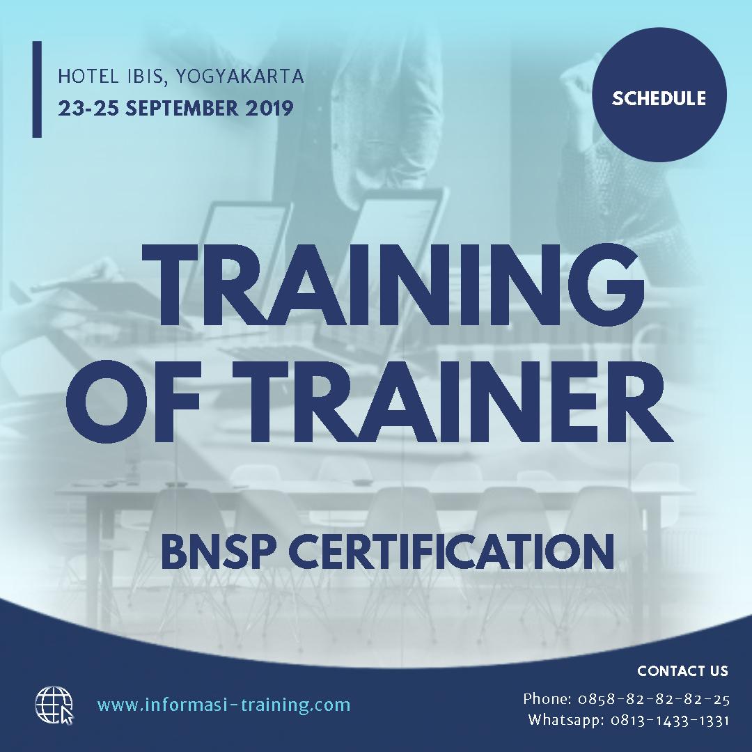 training trainer