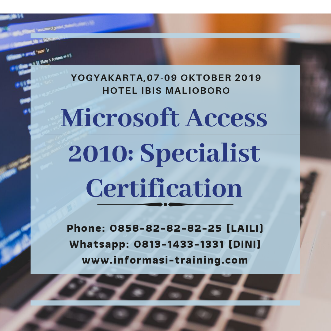 Specialist Certification