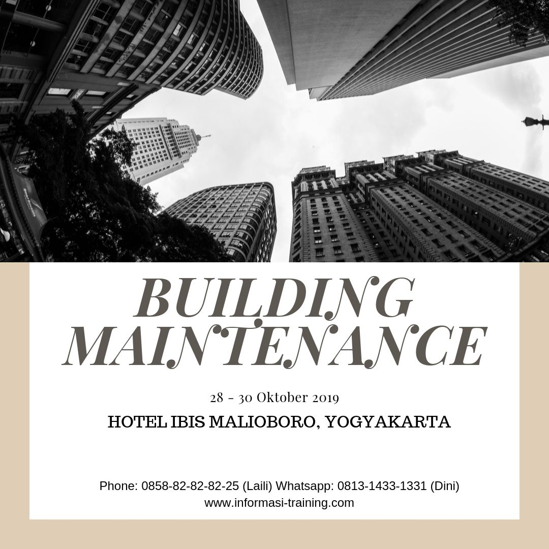 perawatan dan pemeliharaan bangunan gedung