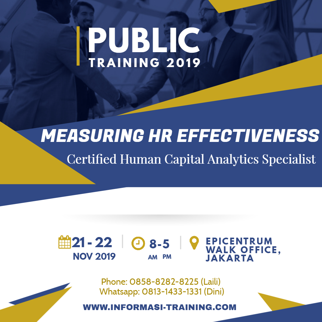 Certified Human Capital Analytics Specialist