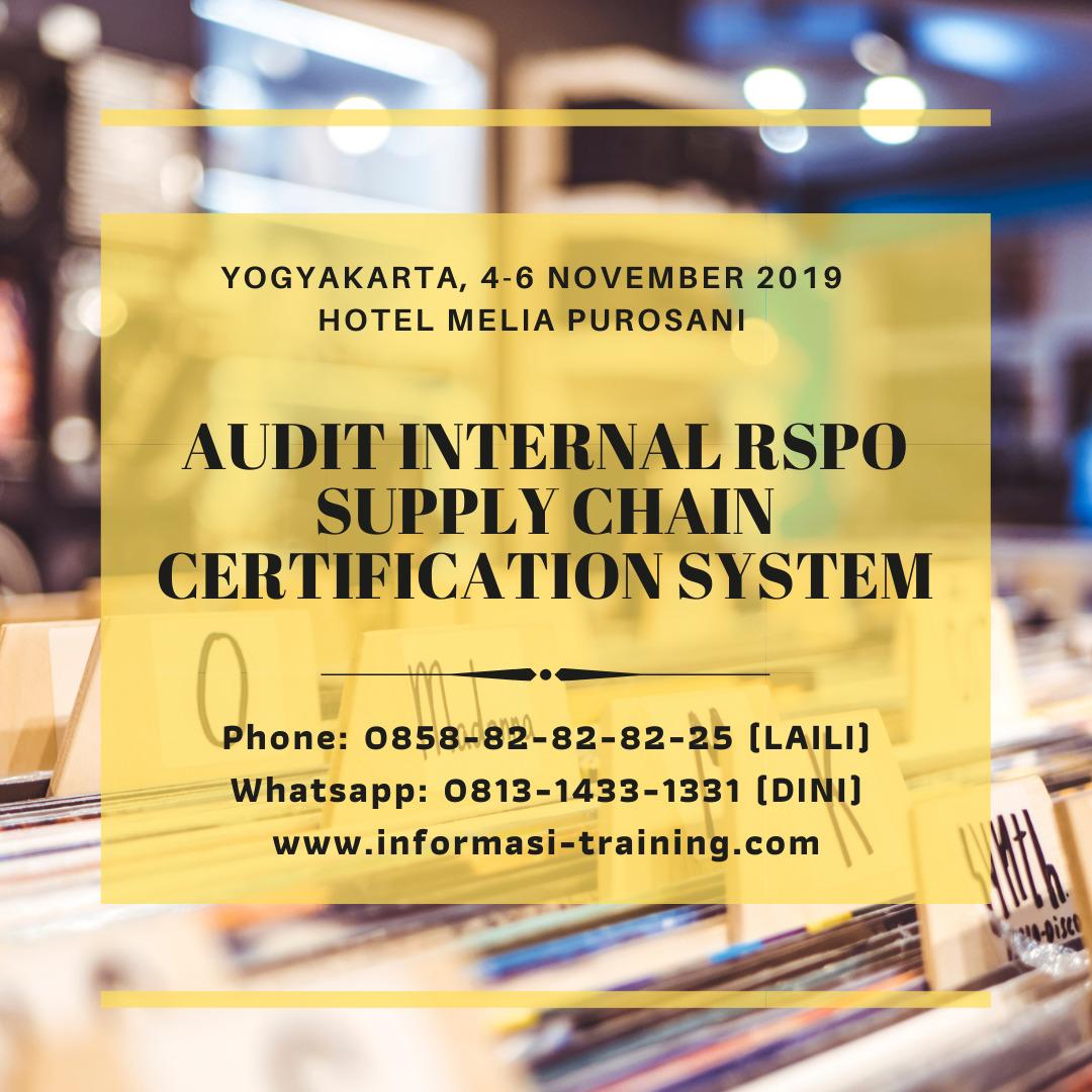Audit RSPO SCCS