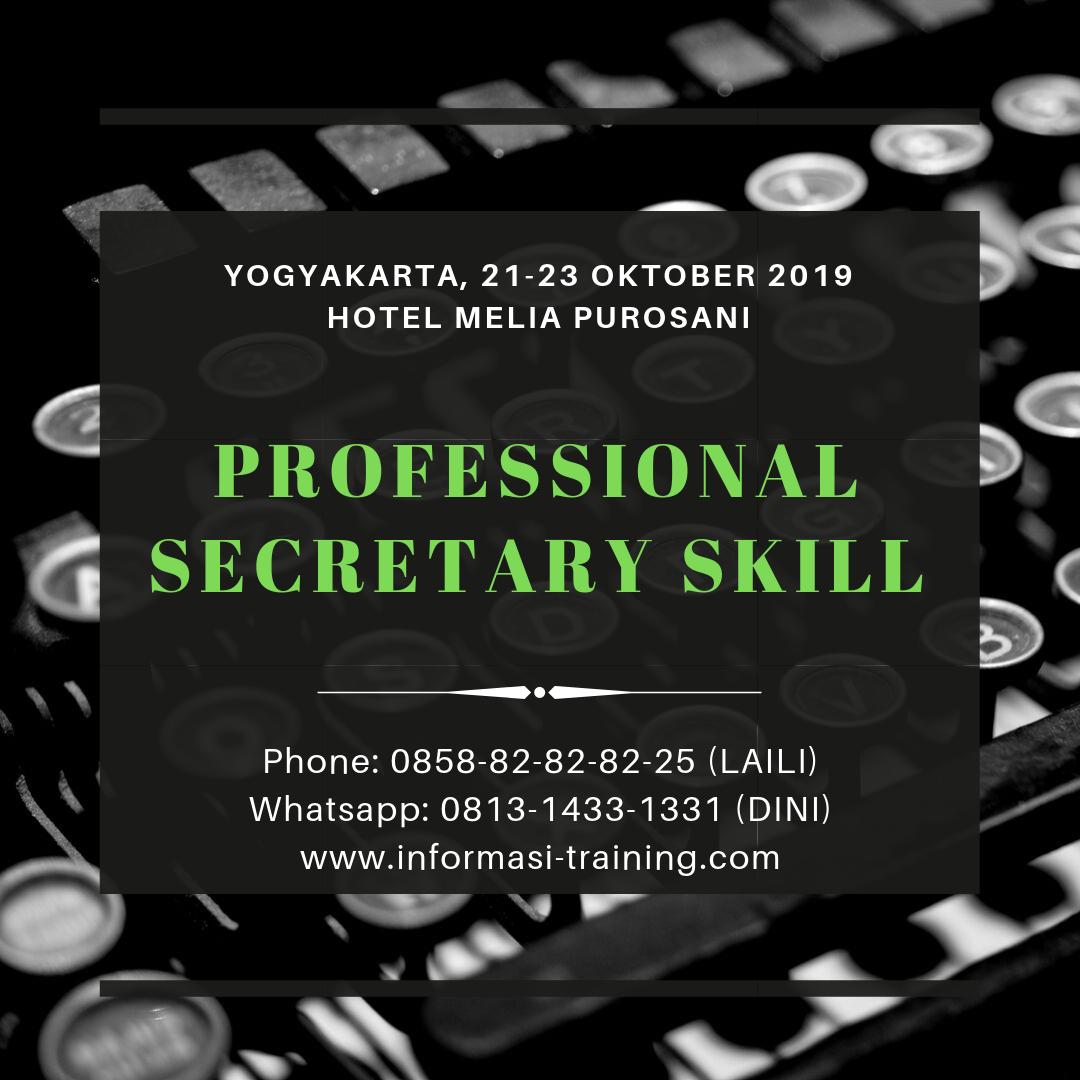 professional secretary