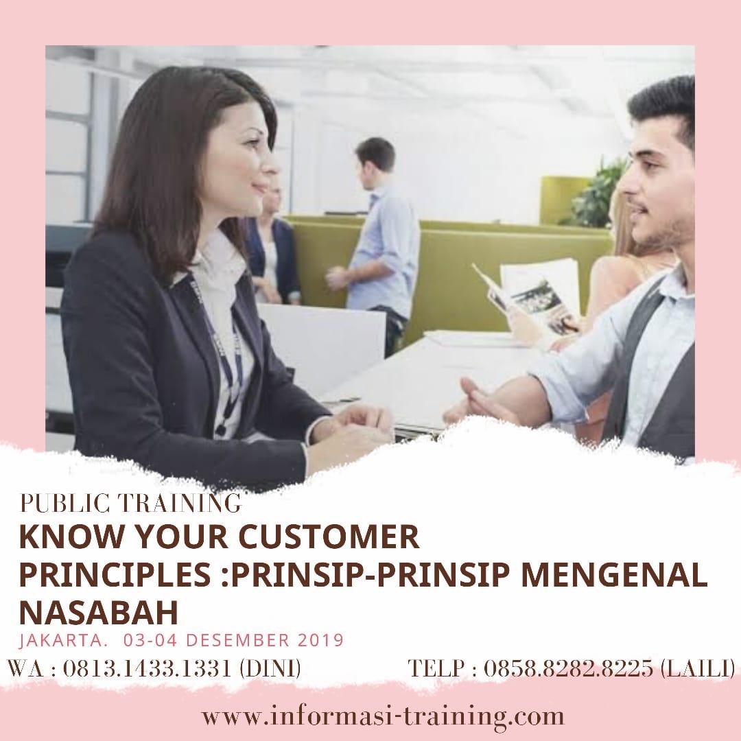 KYC Principle