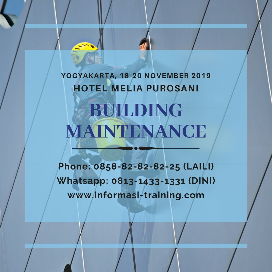 Building Maintenance – AVAILABLE ONLINE