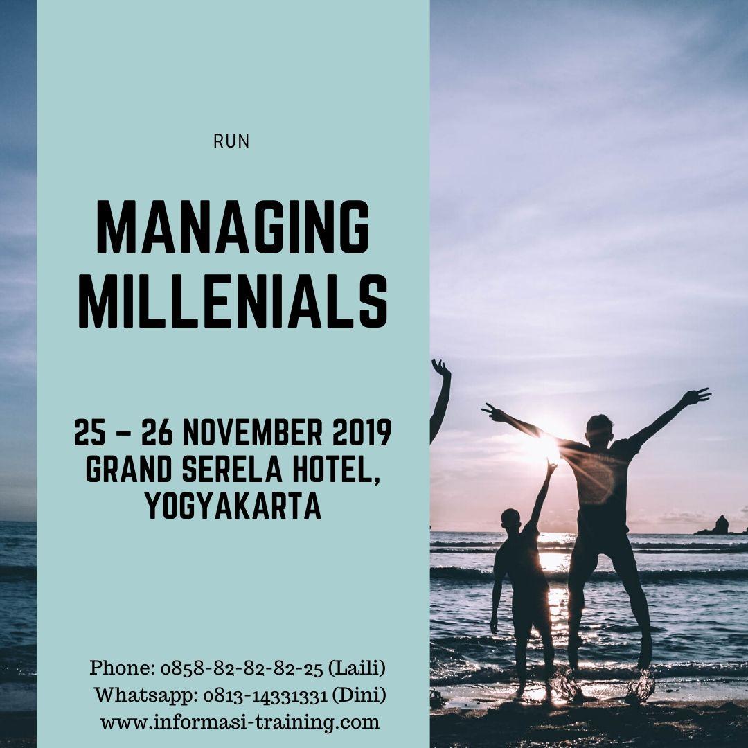 Pengelolaan Generasi Milenial