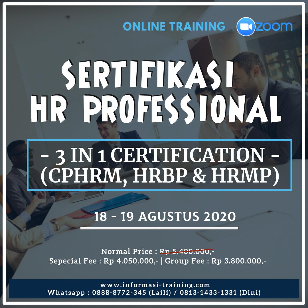 Sertifikasi HR